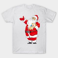 Shop santa and doll santa and doll t-shirts designed by sendiana as well as other santa and doll merchandise at TeePublic. Classic T Shirts, Graphic Tees, Shirt Designs, Dolls, Fabric, Mens Tops, Cotton, Shopping, Fashion