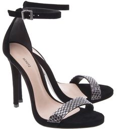 Sandália Ankle Strap Black