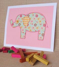 sewn elephant