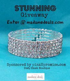 Win this Swarovski Austrian Crystal Bracelet from PinkEpromise!