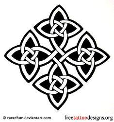 Celtic Knot Tattoo Design