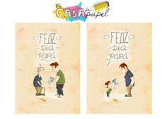 ¡Descárgate ahora mismo nuestras tarjetas para felicitar el día del padre! ¿A que son una chulada?    http://www.micasadepapel.es/tarjeta-dia-padre-peques-para-imprimir    http://www.micasadepapel.es/tarjeta-dia-padre-no-tan-peques-para-imprimir