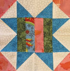 star block of the month - Quilt Ladies 2013 BOM with tutorials