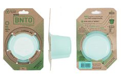 BNTO Canning Jar Lunchbox Adaptor - Wide Mouth - 6oz - Mint