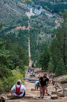 Manitou Springs Incline, Manitou Springs, Colorado…I'd like to go again