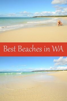 Our best beaches from Western Australia - Journey of a Nomadic Family Australia For Kids, Visit Australia, Australia Living, Western Australia, Building Sand, School Week, Ocean Drive, Rock Pools