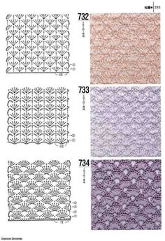 1000 - Donna Taylor - Álbuns da web do Picasa Crocheting Patterns Book 300 Japanese craft book by MeMeCraftwork 40 Free Crochet Stitches from Daisy Farm Crafts Sample squares to try with pictures Crochet Diy, Crochet Motifs, Crochet Shirt, Crochet Diagram, Crochet Books, Crochet Stitches Patterns, Filet Crochet, Crochet Designs, Crochet Doilies