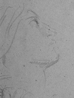 CHASSERIAU Théodore,1843 - Ste Marie l'Egyptienne, Assomption, Etude pour l'Eglise St-Merri(3) - drawing - Détail 14