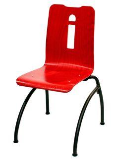 CHAISE STYLA  COLIBRI APPUI SUR TABLE  #chaise #chair #fauteuil #siegerestauration #equipementrestaurant #acier #appuisurtable