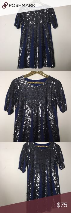 DASLU SAO PAULO SILK SEQUIN DRESS Brand new size 6. Silk with sequins all over. Perfection daslu Dresses