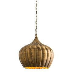 $720 Arteriors Lighting Genova Pendant 44251 | Peace Love & Decorating
