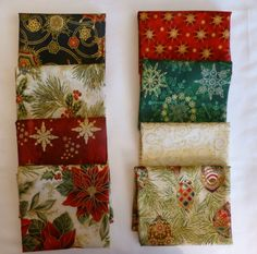 Christmas Fat Quarter Bundle of 8 by SuesFabricNSupplies on Etsy