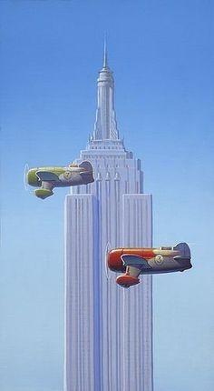 Painting by Robert LaDuke