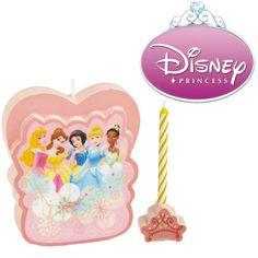 Disney Princess Candle Cake Topper Set