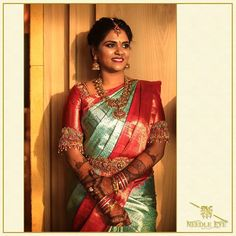 Tired of scrolling through a bunch of pages to find that perfect blouse designs? Check out the top most South Indian blouse designs to pair with a kanjeevaram saree- Eventila Wedding Saree Blouse Designs, Pattu Saree Blouse Designs, Wedding Silk Saree, Blouse Neck Designs, South Indian Blouse Designs, Indian Bridal Fashion, Bridal Sarees South Indian, Like4like, Wedding Bells