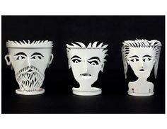 Carved styrofoam cups by Mark Swidler on display at the American Visionary Art Museum Sculpture Lessons, Sculpture Projects, Sculpture Ideas, Sculpture Art, Middle School Art Projects, Art School, Classe D'art, 3d Art Projects, Grand Art
