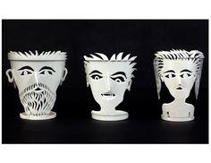 Styrofoam cup sculpture- great high school/ middle school project