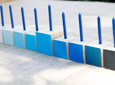 DIY Chanukah/Hanukkah menorah/ Moonfrye/ Chanukah craft/ Chanukah decorations