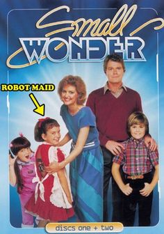 Remember Vicki the robot on this funny sitcom from the 80s?