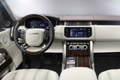 Interior of the All New 2013 Range Rover #allnew #rangerover