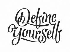 Define Yourself by Bart Vollebregt