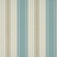 Blue stripe wallpaper I love this wall paper for my bathroom