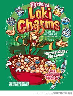Loki Charms…