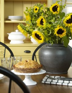 Sunflower, a new finish we love!