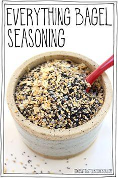 Everything Bagel Seasoning • It Doesn't Taste Like Chicken