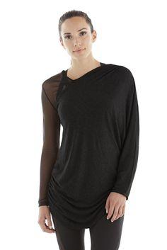 Michi Athena Top Black | Women's Activewear