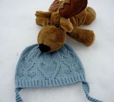 Ravelry: From the Heart pattern by Ágnes Kutas-Keresztes, Child - adult size , free pattern Ravelry Free Patterns, Baby Hat Knitting Patterns Free, Knit Patterns, Free Knitting, Knitting For Charity, Knitting For Kids, Knitting Ideas, Knitted Heart, Knitted Baby