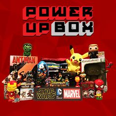 Power Up Box is a subscription box that provides geeky, nerdy, pop culture, and gamer items to thrill your inner geek. Learn more about Power Up Box and read the latest Power Up Box reviews at Find Subscription Boxes: http://www.findsubscriptionboxes.com/box/power-up-box/