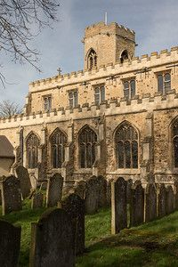 St Peter Saxon church Upwell Norfolk,