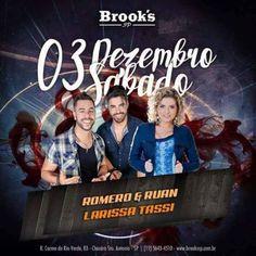 O melhor do Setanejo na Brooks SP Coloque seu nome na lista pelo site: http://www.baladassp.com.br/balada-sp-evento/Brooks-SP/653 Whats: 951674133