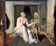 """""""The Conversation"""" Paul Delvaux"""