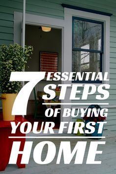 Are you considering buying your first home!? Follow these steps for success.