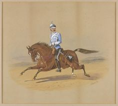 Colonel Gervase Francis Newport Tinley, 1st Bombay Lancers 1883 by R.Simkin