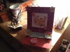 My first box easel card
