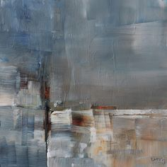 umj.art - Ulla Maria Johanson: 2017-12-04 #1120HazeAcrylic on board, 15x15 cm