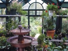 Water Features in Greenhouses