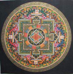 Mandala : L'art éphémère des bouddhistes - MOGWAII                                                                                                                                                     Mais