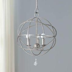 Solaris Collection 3-Light Modern Pendant Light - #K4945 | Lamps Plus Orb Pendant Light, Crystal Pendant Lighting, 3 Light Chandelier, Modern Pendant Light, Pendant Chandelier, Mini Pendant, Chandelier Ideas, Candelabra Bulbs, Ceiling Fixtures