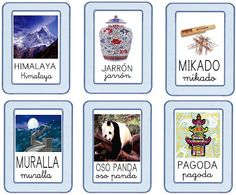 RECURSOS DE EDUCACION INFANTIL: PROYECTO CHINA Asia Continent, Chinese Crafts, Learn Chinese, Preschool Lessons, Travel And Tourism, Homeschool, Spanish, Gallery Wall, Activities