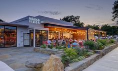 When experienced architects take on adaptive reuse, a gas station can be easily converted into a trendy restaurant.