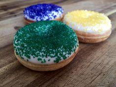 Celebrating Mardi Gras & Fat Tuesday... Mini Donuts are better than Kings Cake! ;)