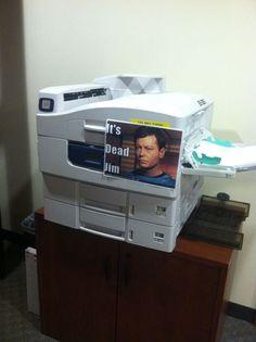 Where no printer has gone before...uhhh