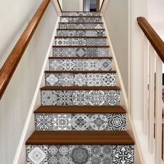Staircase Decals Portuguese Tiles
