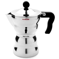 Moka Alessi Stovetop Espresso Maker