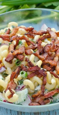 BLT Pasta Salad -- 3 points per cup. My new favorite food.