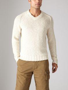 Linen Textured Weave Sweater